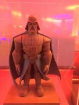 Star Wars The Force Awakens Junket Los Angeles Darth Vader Disney Infinity Clay Figure
