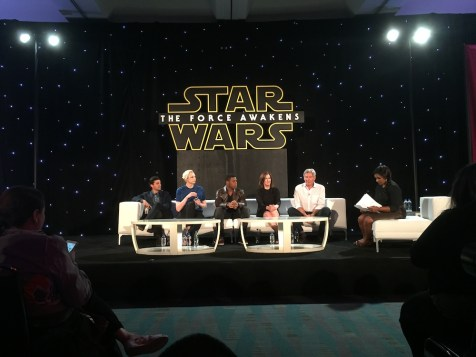 Star Wars The Force Awakens Junket Los Angeles Harrison Ford Press Conference