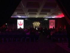 Star Wars The Force Awakens Junket Los Angeles Press Conference Setup