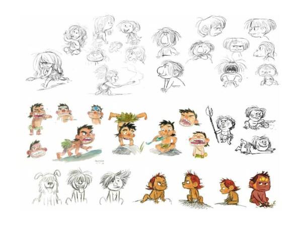 Concept Art for Spot (c) Pixar Animation Studios