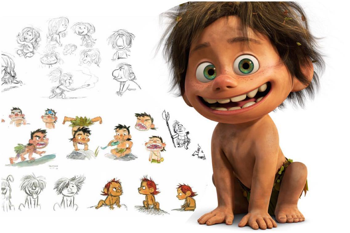Pixar Character Design Process : Learn about pixar s process of designing characters from