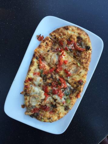 Chicken Sausage & Mushroom Flatbread