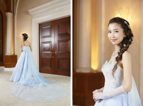 Disney Themed Foezen Wedding Elsa Dress