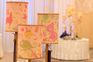 Disney Themed Tangled Table Lanterns