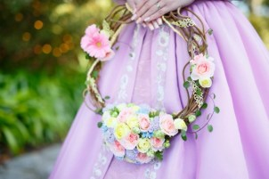 Disney Themed Tangled Wedding Bouquet