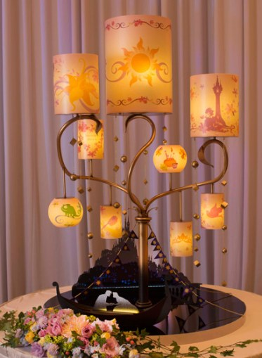 Disney Themed Tangled Wedding Lanterns 2