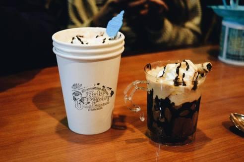 Nestle Hot Chocolate and Affogato