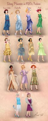 http://basaktinli.deviantart.com/art/Disney-Princesses-in-1920s-Fashion-by-Basak-Tinli-513660699