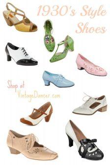 http://vintagedancer.com/1930s/1930s-shoes-history/