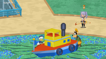 Kingdom Hearts Unchained X Impression - Donald Goofy Ship