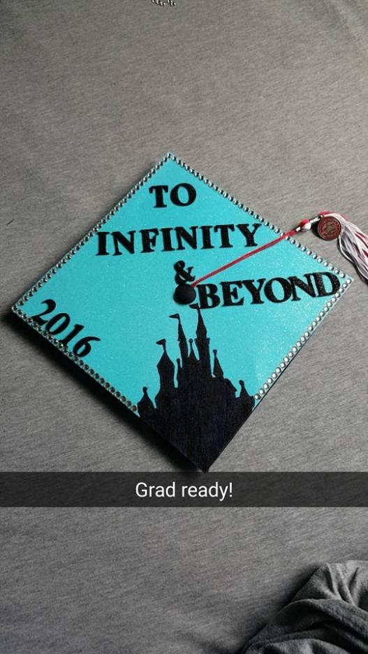 Disney Grad Caps
