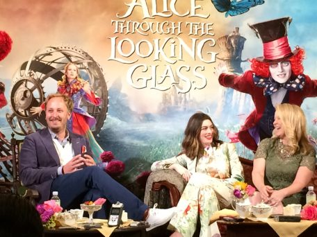 Alice Through The Looking Glass Press Junket DisneyExaminer 2
