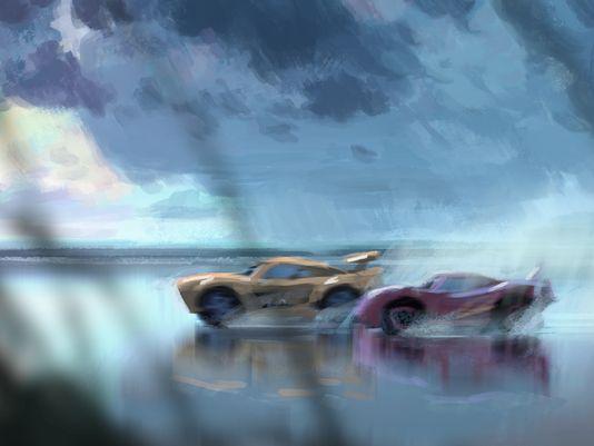 cars 3 lightning mcqueen cruz ramirez