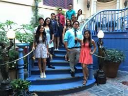 DisneyExaminer Staff at Club 33