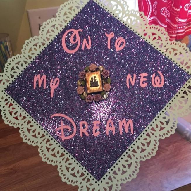 Disney Grad Cap