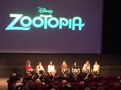 Disney Zootopia Women In Animation Panel
