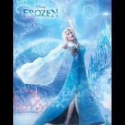 Marsha Milan Londoh as Queen Elsa (Malaysia) Photo: Disney Channel Asia Facebook