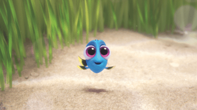 Finding Dory Baby Dory Pacific Regal Blue Tang Fish