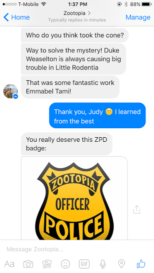 imperson judy hopps chatbot 8