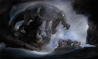 Roaring Rapids Dinosaur Concept Art Shanghai Disneyland Disney Resort