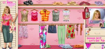 Disney Channel Online Game Lizzie McGuire Dress Up Miranda