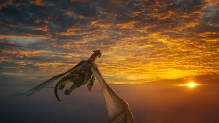 Pete's Dragon Elliot Flying Sunset