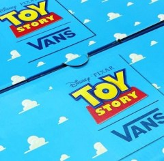 Disney Pixar Toy Story Vans Shoes