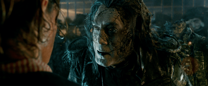 Pirates of the Caribbean: Dead Men Tell No Tales Teaser Trailer Captain Salazar Javier Bardem
