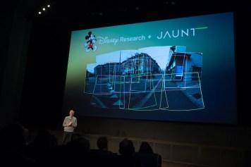 Disney Accelerator Demo Day Jaunt VR