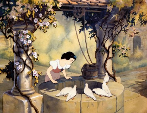 The Walt Disney Film Archives: The Animated Movies 1921 – 1968 TASCHEN Snow White Wishing Well