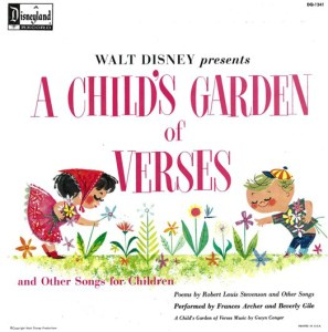 A Child's Garden of Fables Frances Archer Beverly Gile Cover Walt Disney Records Music