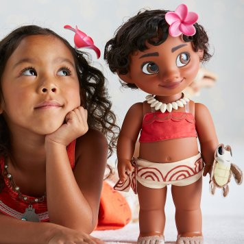"Disney Holiday Season Shopping Black Friday Gift Ideas 2016 Disney Moana Toddler Doll 15"""