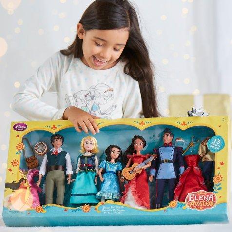 Disney Holiday Season Shopping Black Friday Gift Ideas 2016 Elena of Avalor Deluxe Classic Doll Gift Set