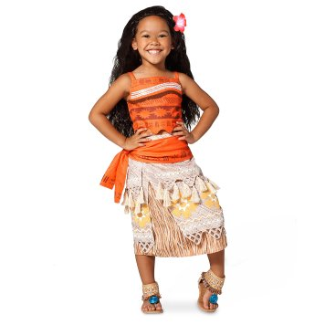 Disney Holiday Season Shopping Black Friday Gift Ideas 2016 Moana Costume Collection for Kids