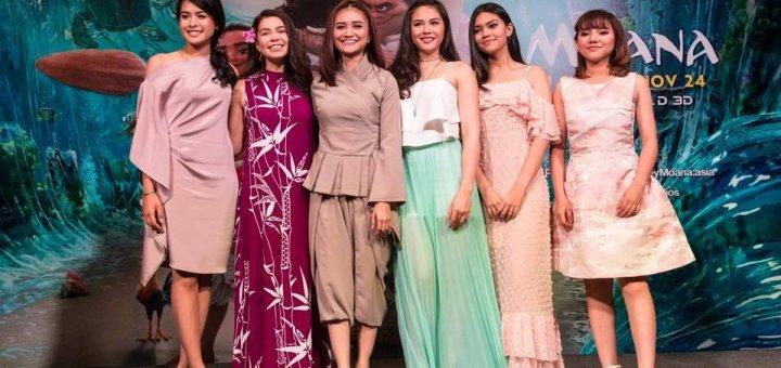 Moana Southeast Asian Covers Ayda Jebat Maudy Ayunda Minh Nhu Maneepat Myra Molloy Janella Salvador Auli'i Cravalho