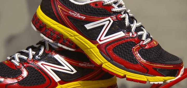 RunDisney New Balance Line Workout Shoes