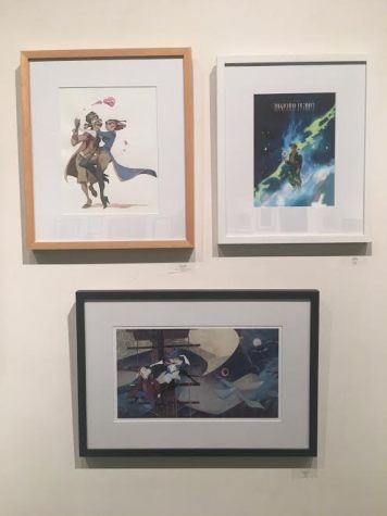 Gallery Nucleus Art Exhibit An Art Tribute to the Disney Films of Ron Clements & John Musker Treasure Planet Paintings