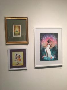 Gallery Nucleus Art Exhibit An Art Tribute to the Disney Films of Ron Clements & John Musker The Princess and the Frog Tiana Paintings