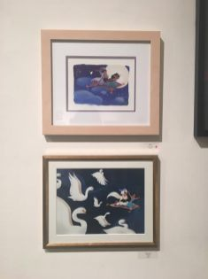 Gallery Nucleus Art Exhibit An Art Tribute to the Disney Films of Ron Clements & John Musker Aladdin Jasmine A Whole New World Paintings