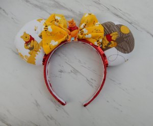 Winnie the Pooh Minnie Mouse Customizable Handmande DIY Ears Etsy AnniesFairytaleBows