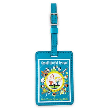 ''it's a small world'' Luggage Tag Gift Ideas Grown Ups
