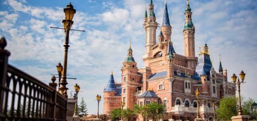 Shanghai Disneyland Storybook Castle