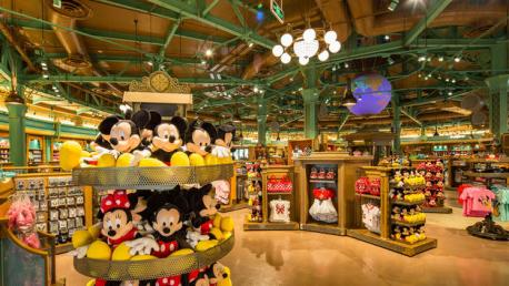 Shanghai Disneyland World of Disney Store Mickey Plushes