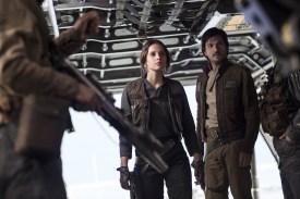 Star Wars Rogue One Review DisneyExaminer Jyn Erso Cassian Andor Felicity Jones Diego Luna
