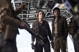 Star Wars Rogue One Review DisneyExaminer Jyn Erso Cassian Andor Felicity Jones Diego Luna