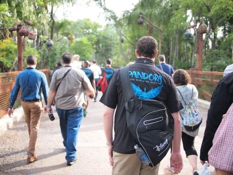 Pandora World of Avatar Grand Opening Coverage DisneyExaminer Shirt