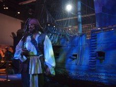 Walt Disney Archives Pavilion Pirates D23 Expo Jack Sparrow Black Pearl