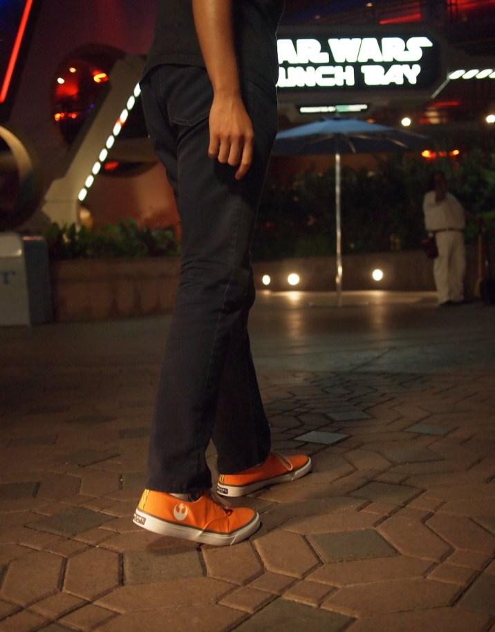 Star Wars Sperry Shoes Rebel Pilot DisneyExaminer Disneyland