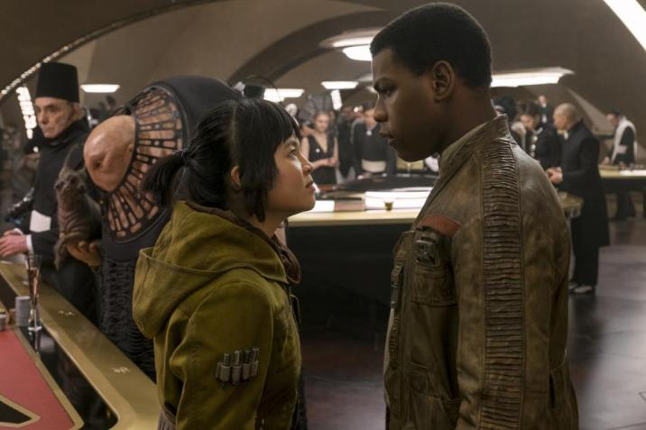 Star Wars The Last Jedi Kelly Marie Tran Rose Tico Finn John Boyega