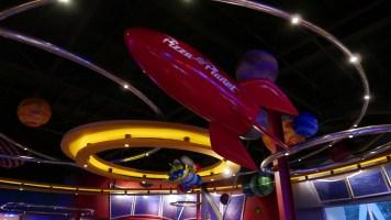 Pixar Fest Disneyland Pizza Planet Overlay